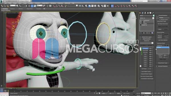 Aplica técnicas de rigging facial para animar gestos