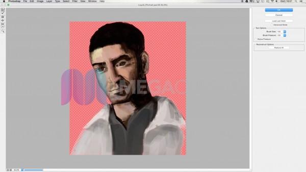 Dibujo digital con Ps - Realiza retratos con enfoque realista