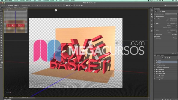 Domina todas las herramientas 3D de Photoshop