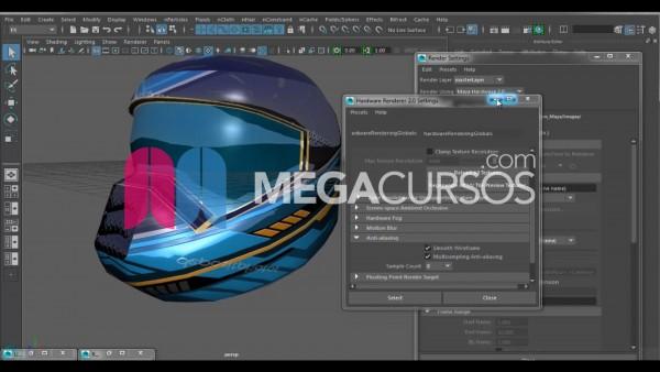 Texturizando Casco con Photoshop