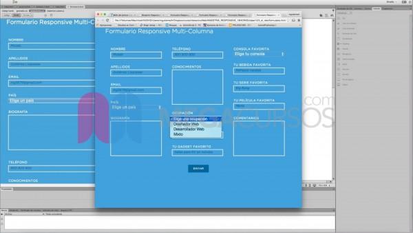 Realiza formularios complejos responsivos para cualquier plataforma