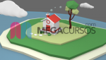7 | Modelado poligonal inorgánico: Casa. Parte B.