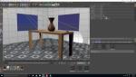 Habitación, iluminación y animación básica