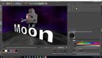 Robot sobre la luna