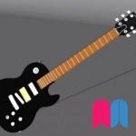 Modelado 3D ' Guitarra eléctrica'