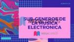 Subgéneros de la música electrónica. Parte A