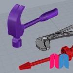Capas y herramienta mirror - Proyecto 'Herramientas'
