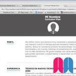 Creación y publicación de un currículum HTML