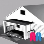 Modelado 3D 'Casa' + Renderizado básico