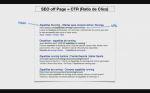 SEO off Page.