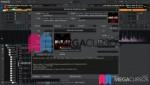 Vistas de mi software, como ajustar la visualización de ondas y el cambio de meta datos de las canciones