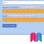 Un formulario PHP con doble validación. Parte 2