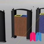 Blend Surface - Proyecto 'Papelera' + Renderizado