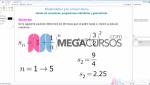 Cálculo de sucesiones, progresiones aritméticas y geométricas. Parte B