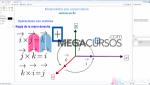 Operación multiplicación vectorial